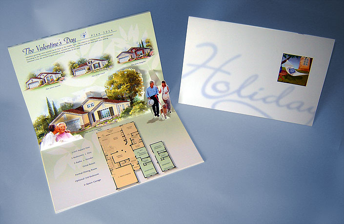 Holiday Senior Housing Community Pop-up Brochure
