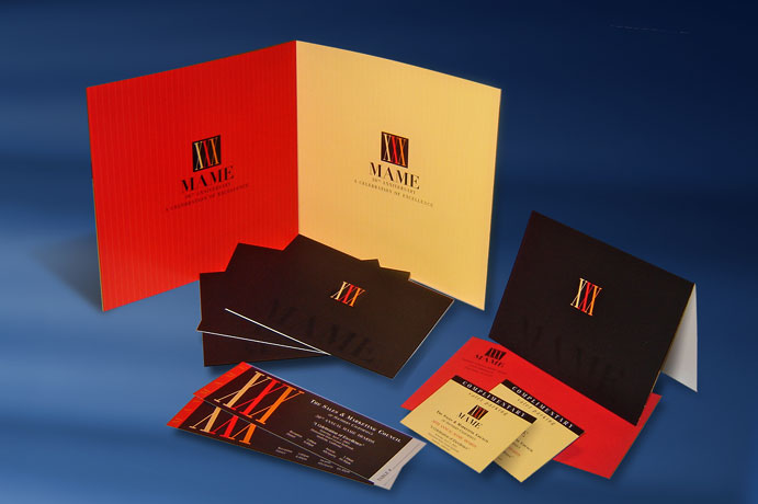 Marketing and Merchandising Excellence (MAME) Awards design collateral