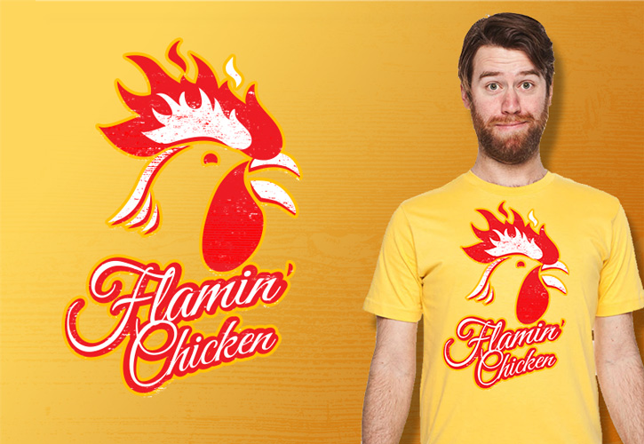 flamin chicken