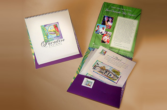 Paradise Springs Housing Community Brochure