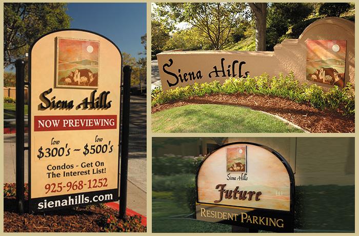 Siena Hills Community Signage